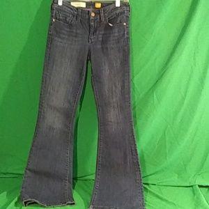 Anthro pilcro & letterpress stet bootcut jeans 27